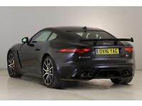 2017 Jaguar F-TYPE 5.0 Supercharged V8 SVR 2dr AW Automatic Petrol Coupe