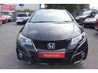 2017 Honda Civic 1.8 i-VTEC SE Plus (Nav) Automatic Petrol Hatchback