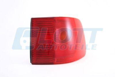 HECKLEUCHTE außen rechts für AUDI A6 (4A/C4) 06/94-10/97 rot, ohne Lampenträger,