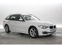 2013 (13 Reg) BMW 318D 2.0 SE Touring Mineral White ESTATE DIESEL MANUAL