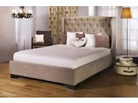 Capella king size bed frame