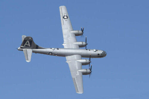Giant 1/20 Scale B-29 Super Fortress Plans and Templates 83ws