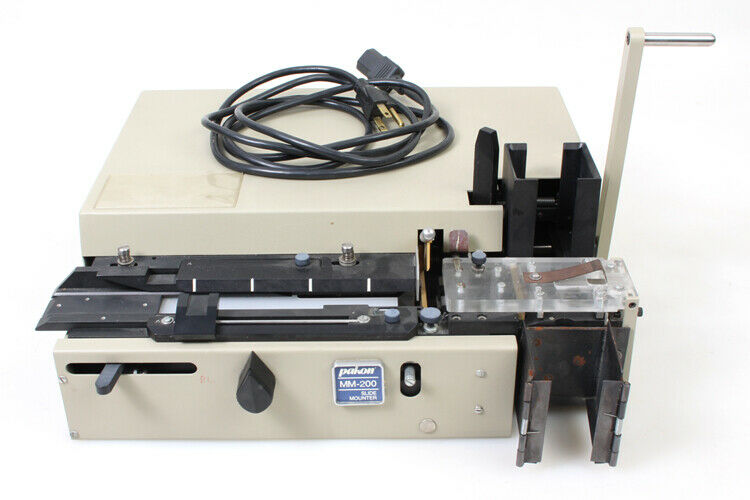 Pakon MM-200 Slide Mounter w/ Loading Racks