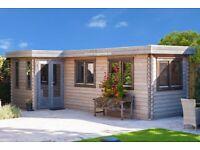 Log Cabin/Sheds/Garden building installation services.