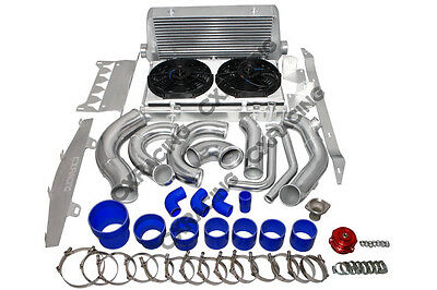 CX Turbo Intercooler Piping BOV Radiator For Chevrolet Corvette C6 LS LS3 NA-T