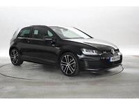2014 (14 Reg) Volkswagen Golf 2.0 TDi GTD MK7 Deep Black 3 STANDARD DIESEL MANUA