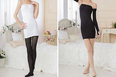 Damen Miederkleid Bauch Weg Figurformend Schlankheitskleid BodyUnterkleid R-017