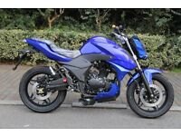 SensesDuke 50cc/125cc motorcycles perfect for cbt riders