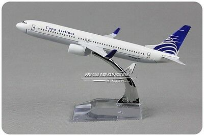 Copa Airlines Boeing 737 Passenger Airplane Aircraft Plane Metal Diecast Model