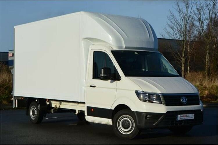2019 VW CRAFTER LUTON WITH TAIL LIFT INCL COURIER INSURANCE FROM