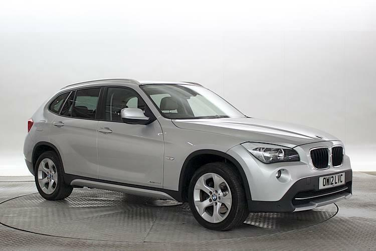 2012 12 reg bmw x1 2 0 xdrive20d se silver diesel automatic in west london london gumtree. Black Bedroom Furniture Sets. Home Design Ideas