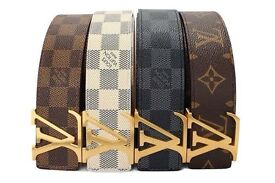 **BRAND NEW LOUIS VUITTON -STAMPED-LEATHER BELT** £25 2 for £45 (Special Offer) x