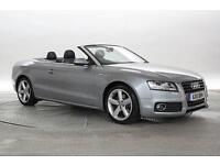 2011 (11 Reg) Audi A5 2.0 TDi 170 S-Line Silver CONVERTIBLE DIESEL MANUAL