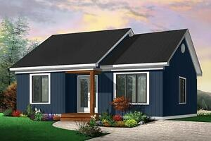 NEW $123,000 CONSTRUCTED 948 SQ FT BUNGALOW ON YOUR LOT