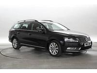 2012 (12 Reg) Volkswagen Passat 2.0 TDi 140 BlueMotion Tech SE Deep Black ESTATE
