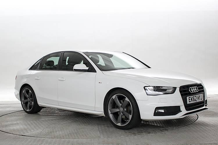 2012 62 reg audi a4 2 0 tdi 143 s line black edition. Black Bedroom Furniture Sets. Home Design Ideas