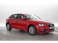 2013 (13 Reg) Audi A3 1.6 TDi SE Sportback Red 5 STANDARD DIESEL MANUAL