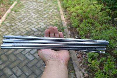 11 Sections Aluminum Alloy 8.5mm 404cm Spare Replacement Tent Poles Grey C&ing & 11 Sections Aluminum Alloy 8.5mm 404cm Spare Replacement Tent ...