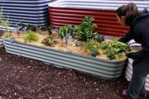 Raised Garden beds Canberra Colourbond made to measure
