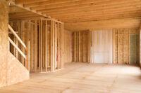 Basement framing 1.50 sq/f