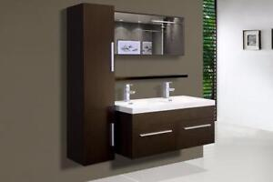Bathroom Vanity NEW Special price on demo / Meuble de salle de bain
