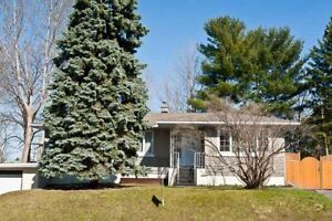 For Rent Spacious Bungalow Mont-Blue Area in Hull (QC)