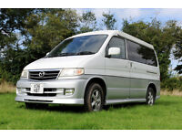 Mazda Bongo Campervan Day Van. Pop up roof, full side convesion, awning. Ex. condition.