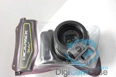 DiCAPac WP-570 wasserdichte Schutztasche für alle Panasonic DMC TZ, Canon SX uva