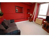Spacious 1 bed 1st floor flat with open-plan living room and garden access available May - NO FEES!