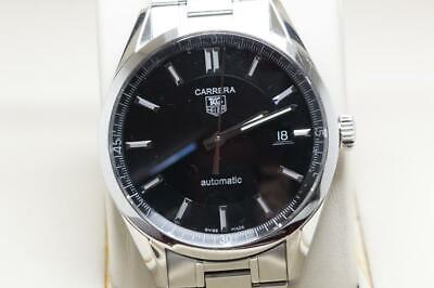 Tag Heuer Gents Carrera Wristwatch Ref WV211B-3 Calibre 5