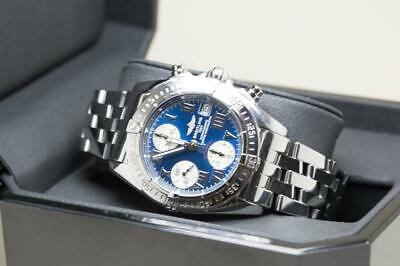 Stunning Breitling Gents Chrono Cockpit Wristwatch Ref A13358 - Box & Papers