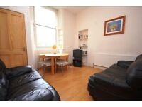 STUDENTS: Large 3 bed ground floor main door flat with broadband available August