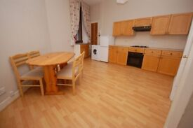 Very large, 1 bed flat with spacious box-room near Leith Walk available October!