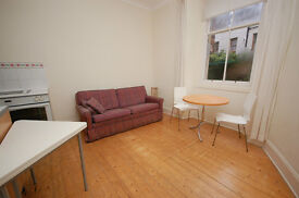 Bright ground floor 1 bed flat with shared garden in Newington available March - NO FEES