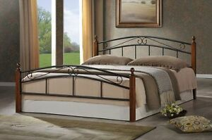 Iron Bed Frame Wooden Legs From $130 Springvale Greater Dandenong Preview