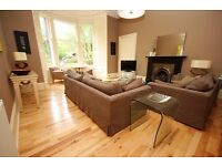 UNDER OFFER - Spectacular 3 bedroom (NO-HMO) garden flat in Marchmont available November – NO FEES
