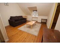 STUDENTS 17/18: Colourful and quirky 1 bed attic flat with separate lounge available August- NO FEES