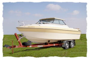 Wanting a 20-24 ft.  boat removed. Tottenham Ontario