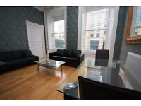 STUDENTS 17/18: Stunning 4 bed HMO flat near Tollcross with available August - NO FEES
