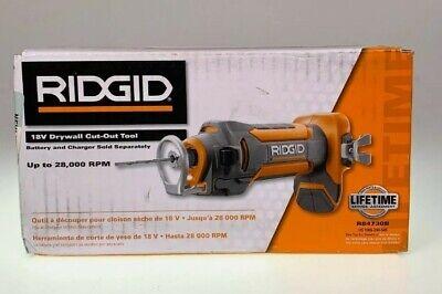 Ridgid R84730b 18v Drywall Cut-out Tool 28000 Rpm New In Box