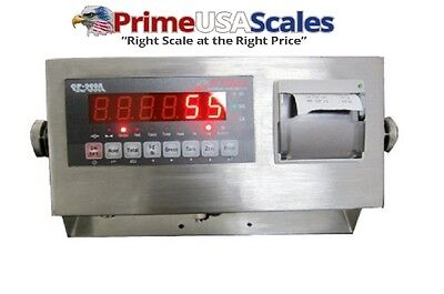 Indicator Optima Scale Op-900p-12 Stainless Steel Printing Weighing Indicator