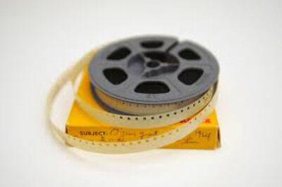 500 Feet MOVIE FILM TRANSFERRED ~ Super 8 16mm 8mm  ~ TRANSFER / COPY to a DVD