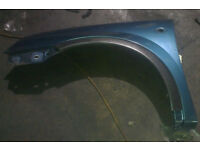 Vauxhall Corsa N/S Wing In Blue Colour (2003)