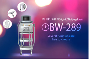 Salon Use SHR+Ndyag Q-switch Laser Machine (BESTVIEW- BW289)