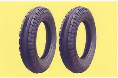 2 New 4.00-15 John Deere Original 3-rib Front Tractor Tires Tubes Made In Usa