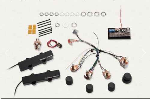 SEYMOUR DUNCANSTEVE BAILEY ACTIVE PREAMPPASSIVE VOICED 3 BAND STC-3PSB