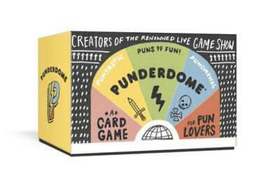 Punderdome  A Card Game For Pun Lovers By Fred Firestone  New