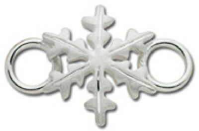 LeStage Convertible Bracelet Clasp - Christmas Snowflake Matte (SB5443)
