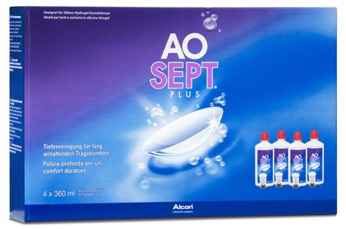 AOSEPT Plus 4x360ml Peroxidsystem von Alcon