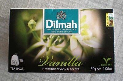 Ceylon Teas Strawberry Tea - Dilmah Ceylon Tea Vaniila, Peach, Apple, Mango & Strawberry,Caramel, 20 tea bags